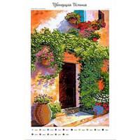 Крестомания 058П Цветущая Испания. Рисунок на холсте