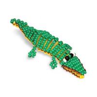 Кроше (Радуга бисера) А-029 Браслет Крокодил