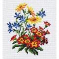 Матренин Посад 0366 Весенний букет. Рисунок на канве