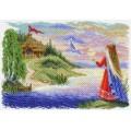 Матренин Посад 1629 Весточка. Рисунок на канве