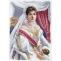 Матренин Посад 1682 Императрица Александра Фёдоровна. Рисунок на канве