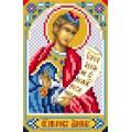 Матренин Посад 3023 Икона Св. Даниил пророк. Рисунок на шёлке