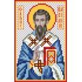 Матренин Посад 3039 Икона Св. Василий. Рисунок на шёлке