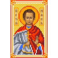 Матренин Посад 3049 Икона Св. Виталий. Рисунок на шёлке
