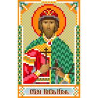 Матренин Посад 3054 Икона Св. Игорь. Рисунок на шёлке
