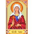 Матренин Посад 3058 Икона Св. Лариса. Рисунок на шёлке