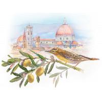 Матренин Посад 4150 Под солнцем Тосканы. Рисунок на шёлке