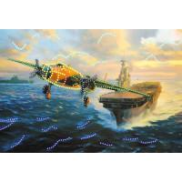 Матренин Посад 4166 Крылья свободы. Рисунок на шёлке