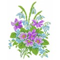 Матренин Посад 4501 Весенний аромат. Рисунок на шёлке