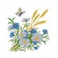 Матренин Посад 4503 Полевые цветы. Рисунок на шёлке