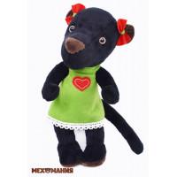 """Мехомания ММ-020 Набор для изготовления игрушки из меха """"Красавица пантера"""""""