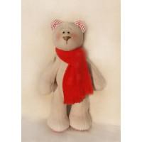 Ваниль B002 Мишка в шарфе