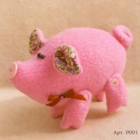 Ваниль P001 Розовый поросенок
