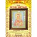Золотой восход КИ-1003 Богородица Семистрельная. Основа для вышивания бисером