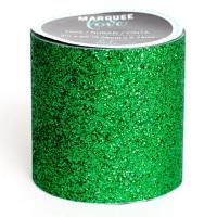 "American Crafts 312216 Глиттерная клеевая лента ""Marquee Love"", цвет - темно-зеленый"