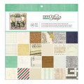 American Crafts 366665 Набор бумаги «Paper Pad»