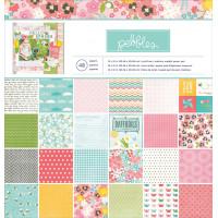 "American Crafts 732543 Набор бумаги ""Garden Party"""