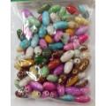 Астра 7710789 Бусины пластиковые Цветные Камешки 105шт/упак