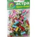 Астра 7710791 Бусины пластиковые Цветные Камешки 165шт/упак
