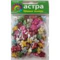 Астра 7710785 Бусины пластиковые Цветные Камешки 88шт/упак