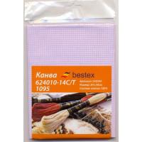 Bestex 549394 Канва 624010-14C/T 1095, цвет сиреневый