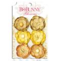 """Bo Bunny 11411474 Бумажные цветы """"Natural Earth Pansy"""""""