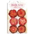 "Bo Bunny 11411476 Бумажные цветы ""Wildberry Pansy"""