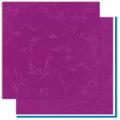 "Bo Bunny 12GW520 Бумага для скрапбукинга  ""Grape Flourish"""