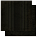"Bo Bunny 12LIS360 Бумага для скрапбукинга  ""Licorice Stripe"""