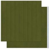 "Bo Bunny 12OS384 Бумага для скрапбукинга ""Olive Stripe"""