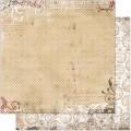 Bo Bunny 12TD615 Лист бумаги «Timepiece Dot»