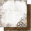Bo Bunny 12TG622 Лист бумаги «Timepiece Gears»