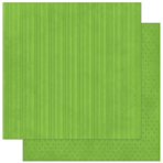 """Bo Bunny 12WS445 Бумага для скрапбукинга """"Wasabi Stripe"""""""