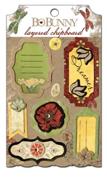 "Bo Bunny 13409427 Украшение декоративное из картона ""Serenade Layered Chipboard"""