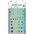 """Bo Bunny 13707565 Клеевые полубусины  """"Snow Day Jewels"""""""