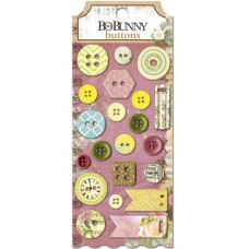 "Bo Bunny 13808597 Набор декоративных пуговиц ""C'est La Vie Buttons"""