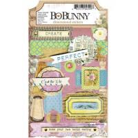 "Bo Bunny 13810599 Набор объемных наклеек ""C'est La Vie Dimensional Stickers"""