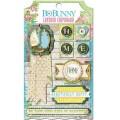 Bo Bunny 14109687 Набор клеевых 3D чипбордов «Prairie Chic»