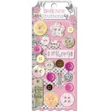 "Bo Bunny 14308746 Набор декоративных пуговиц ""Isabella Buttons"""