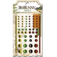 "Bo Bunny 14607857 Клеевые полубусины ""Trail Mix Jewels"""