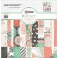 """Bo Bunny 15416121 Набор бумаги """"Pincushion Collect Pack"""""""