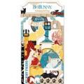 "Bo Bunny 15713204 Набор вырубок ""Happy Tails Noteworthy"""