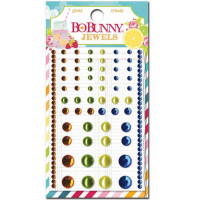 "Bo Bunny 16307398 Клеевые полубусины ""Lemonade Stand Jewels"""