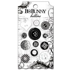 "Bo Bunny BUE163 Набор декоративных пуговиц ""Enchanted"""