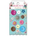 "Bo Bunny BUS640 Набор декоративных пуговиц ""Sweet Tooth Buttons"""