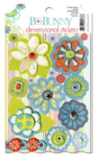 "Bo Bunny DSA333 Стикеры-украшения ""Alora Dimensional Stickers"""