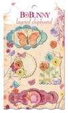 "Bo Bunny LCA763 Украшение декоративное из картона ""Ambrosia Layered Chipboard"""