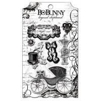 "Bo Bunny LCE439 Украшение декоративное из картона ""Enchanted Layered"""