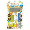 "Bo Bunny LCO183 Украшение декоративное из картона ""On The Go Layered Chipboard"""