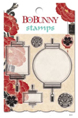 """Bo Bunny SSE480 Набор прозрачных штампов """"Serenity Clear Stamp"""""""